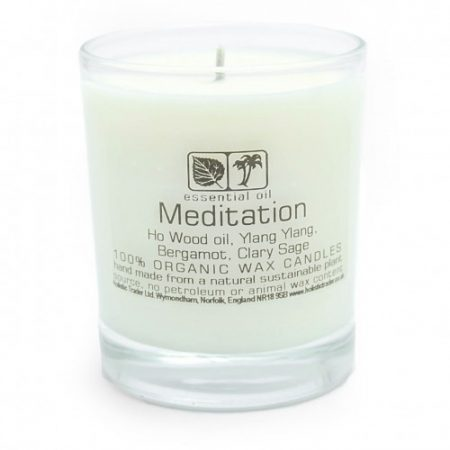 Large Organic Meditation Candle