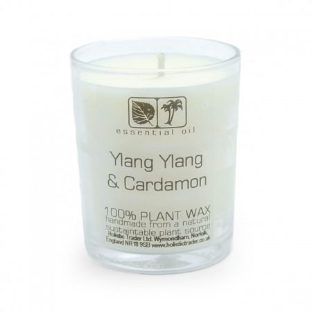 Ylang Ylang & Cardamon- Votive Aromatherapy Candle