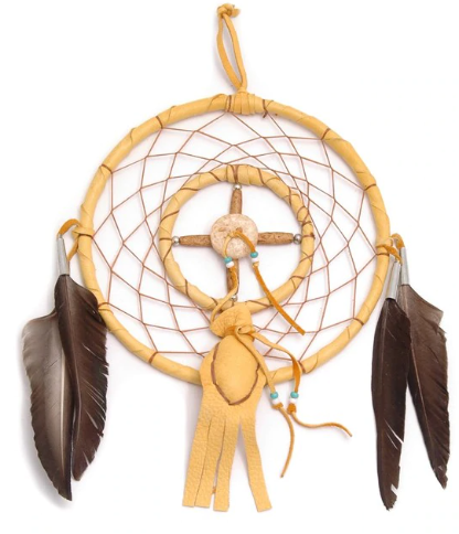 Navajo Dream Catcher with Medicine Bag