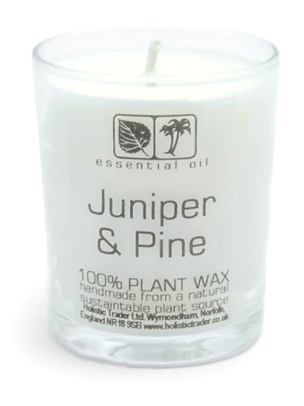 Juniper and Pine Oil- Votive Aromatherapy Candle