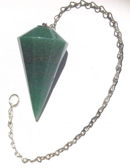 Aventurine Quartz (Green) Pendulum