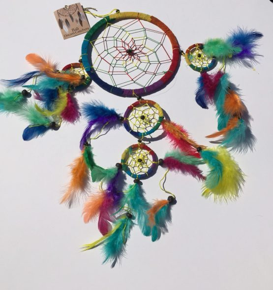 Rainbow Dream Catcher-Large
