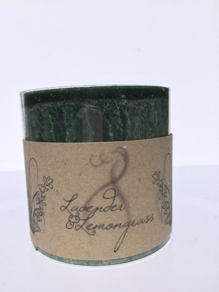 Lavender & Lemongrass Fragranced Candle