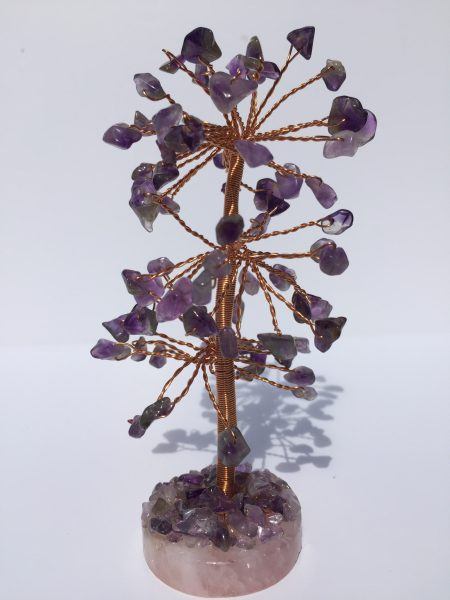 Gem Tree - Amethyst (Round Base)
