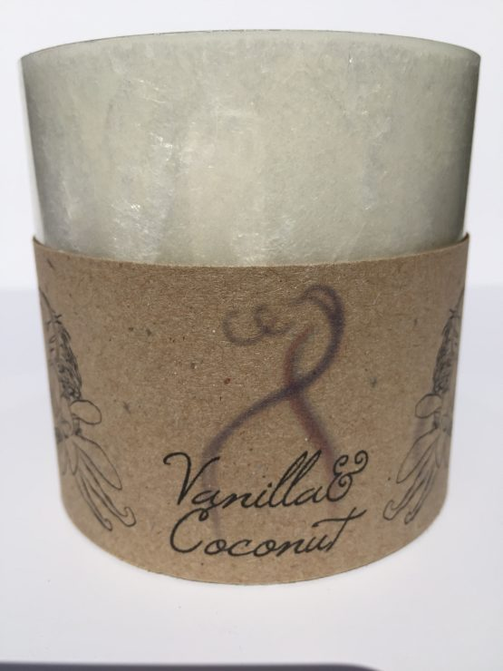 Vanilla and Coconut Fragranced Candle