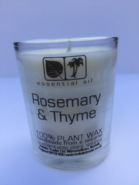 Rosemary & Thyme Aromatherapy Candle