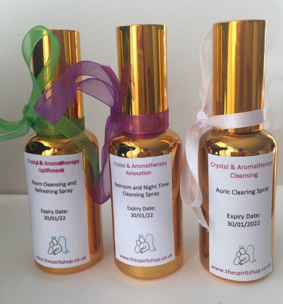 Crystal & Aromatherapy Spray Collection