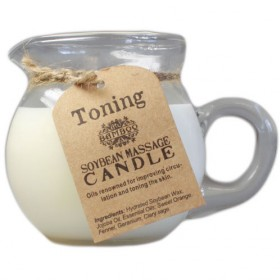 Soy Massage Candle- Toning