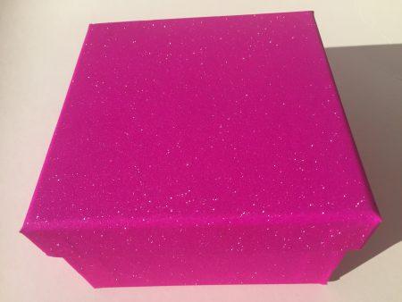 Pink Glitter Gift Box
