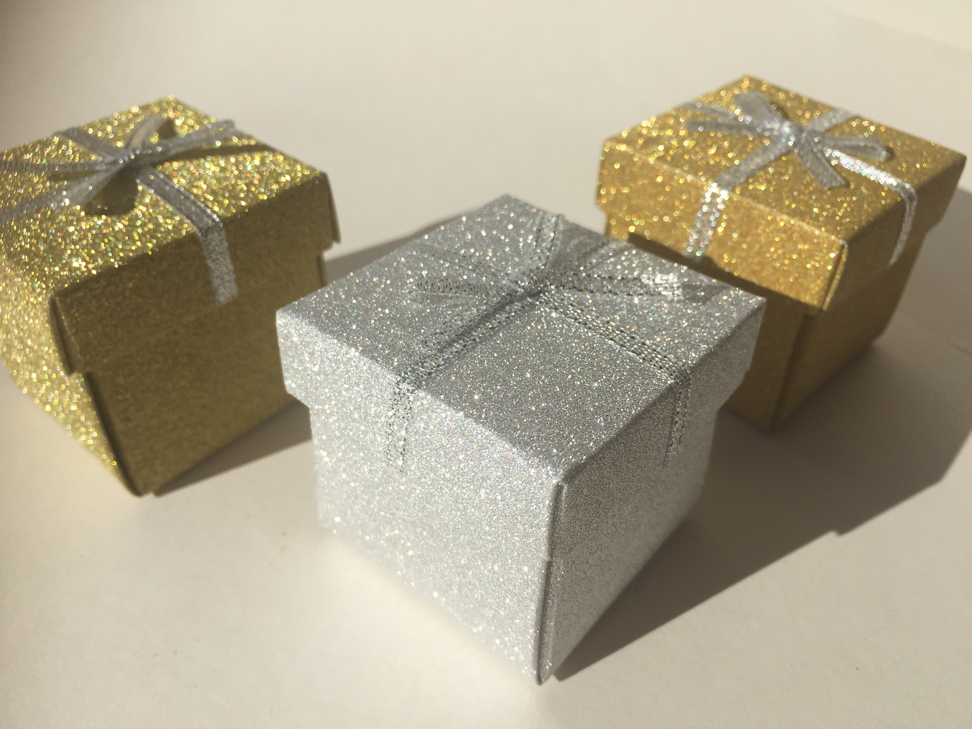 Gold Glitter Gift Box small lightbox · lightbox & Gold Glitter Small Gift Box - The Spirit Shop