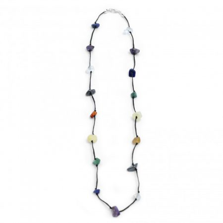 Lacy Chakra Necklace Crystal Jewellery