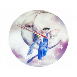Watching Over Us Clock-Cindy Grundsten Collection