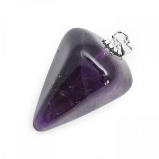 Amethyst Crystal Pendulum Pendant