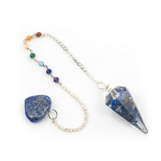 Lapis - Orgone Pendulum with Chakra Chain