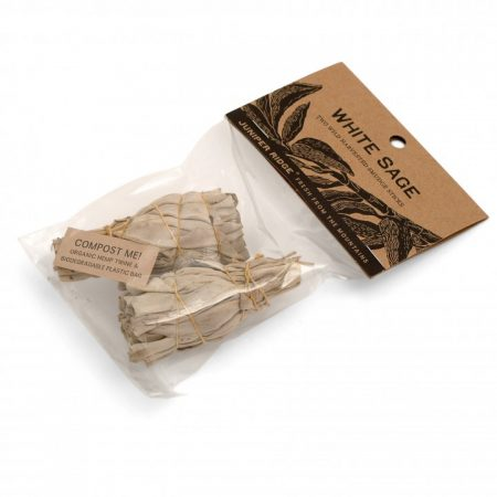 Mini White Sage Smudge Sticks (pack of 2)