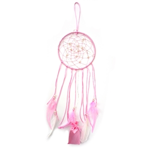 LED Pink Dreamcatcher - Colour Gift Boxed