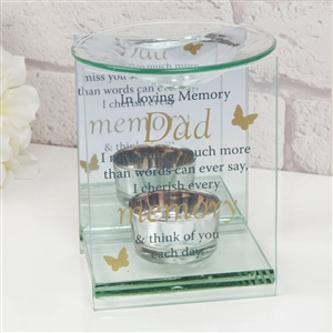 Thoughts Of You Glass Wax Melt / Oil Burner Dad