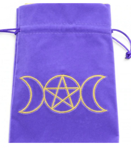 Purple Moon Goddess Tarot - Angel Card Bag