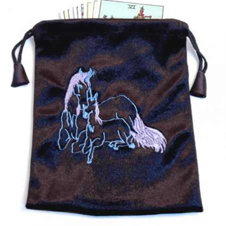 Black Tarot - Angel Card Bag - Unicorn