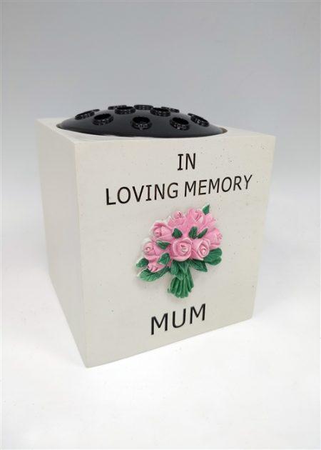Mum Rose Flower Bowl 14cm