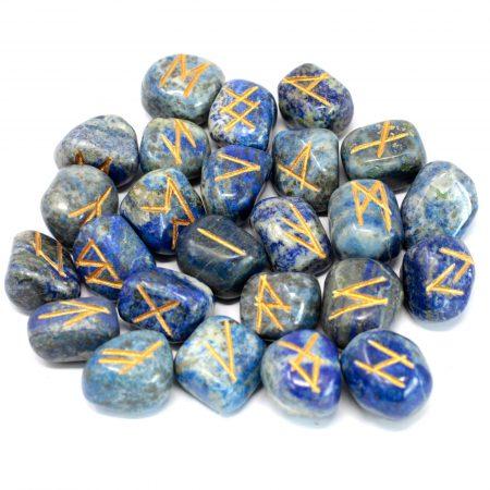 Crystal Rune Stones - Lapis Lazuli