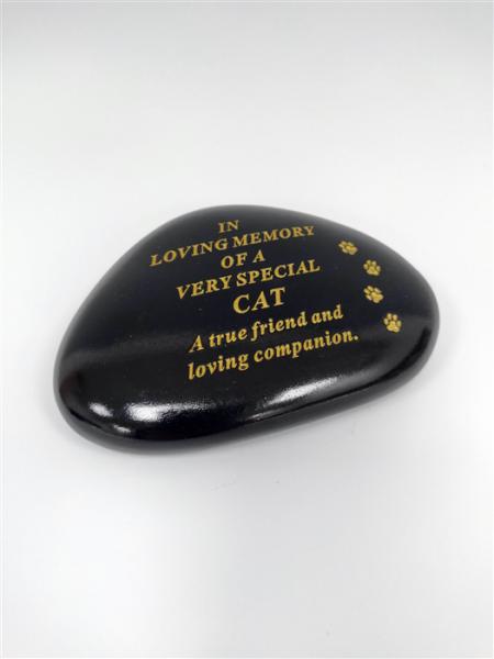 Cat Memorial Pebble
