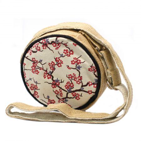 Cherry Blossom Eco Round Bag (Small)