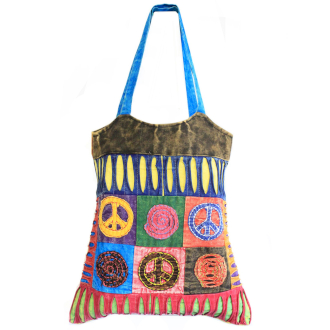 Classic Peace Skirt Bags (Assorted Designs)