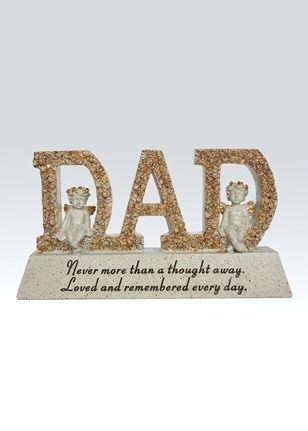Dad Cherub Memorial Plaque