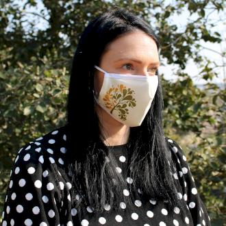 Golden Tree Reusable Fashion Face Mask (Adult)