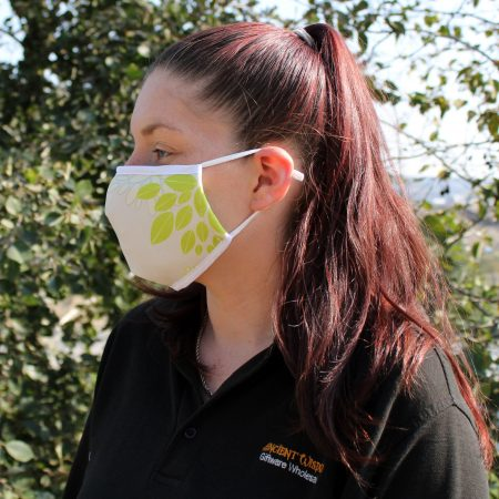 Green Leaves Reusable Fashion Face Mask (Adult)