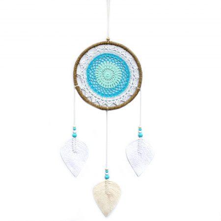Large Turquoise Elemental Spirits Dream Catcher