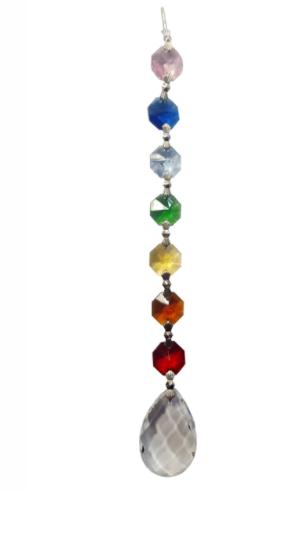 Amrita Chakra Crystal Teardrop With Gift Box (20cm)