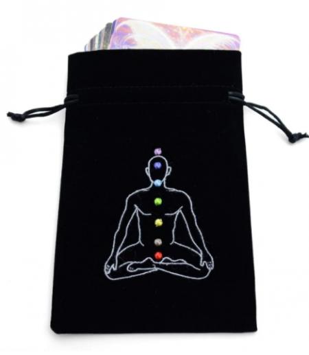Chakra Man Tarot Bag - Black