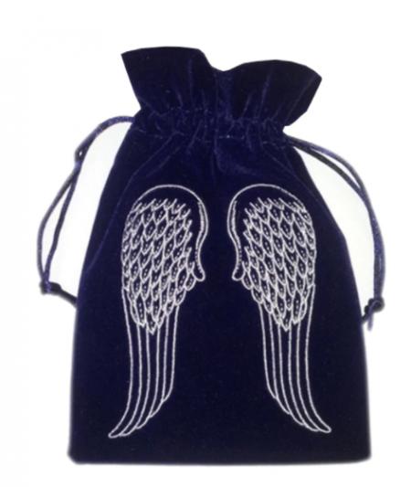 Angel Wings Tarot / Oracle Card Bag - Navy