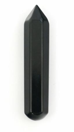 Black Jasper 6 Faceted Massage Wand