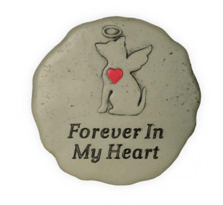 Pet Memorial Forever Dog Garden Stone
